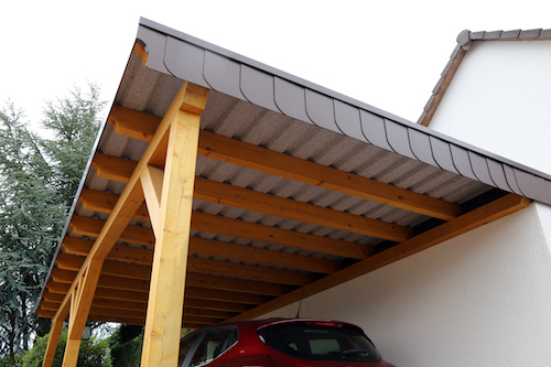 Carport Dach Ziegel