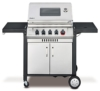 Enders BBQ Gasgrill MONROE 3 SIK Turbo, Gas Grill 83836, Steak Turbo Zone, Simple Clean, 3 Edelstahl-Brenner, Grillwagen  Deckel, Thermometer und Kocher - 1