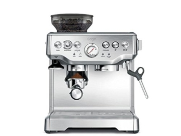 Sage Appliances SES875 Espresso-Maschine The Barista Express, Gebürstetes Edelstahl - 1