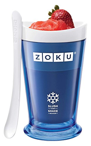 ZOKU SLUSH & SHAKE MAKER BLUE Create velocemente le vostre granite - 1