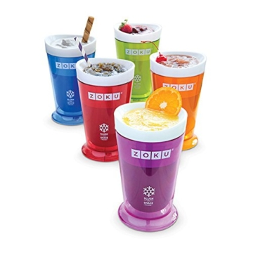 ZOKU SLUSH & SHAKE MAKER BLUE Create velocemente le vostre granite - 3