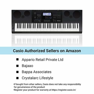 Casio WK-6600 Keyboard - 3