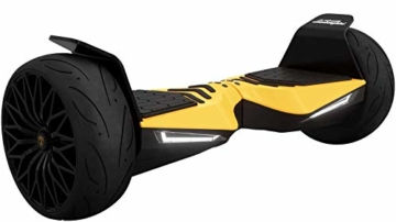 "Lamborghini Two Dots, Wheelheels - 'Glyboard Corse' - 8.5"" Balance Scooter, Hoverboard (Gelb) - 1"