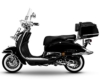 Retro Roller Easy Cruiser Chrom 50 ccm schwarz Motorroller Scooter Moped Mofa Easycruiser - 1