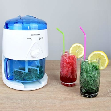 Gino Gelati IC-005 Elektrischer Smoothie Slush Crushed Maker Mixer Ice Shaver - 6
