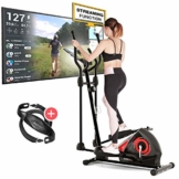 Sportstech CX608 Crosstrainer - Deutsche Qualitätsmarke - Video Events & Multiplayer APP & Bluetooth kompatibler Konsole, inklusive Pulsgurt, Ellipsentrainer,Tablet-Halterung-Ergometer (cx608) - 1