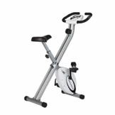 Ultrasport Heimtrainer F-Bike Advanced,LCD-Display, klappbarer Hometrainer, verstellbare Widerstandsstufen, mit Handpulssensoren, faltbarer Fahrradtrainer, für Sportler und Senioren - 1