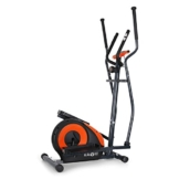 Klarfit Ellifit FX 250 - Nordic Walking Ellipsentrainer, Crosstrainer, Handpulsmesser, Trainingscomputer, 8 Stufen Widerstand, für Personen mit einem Gewicht bis 110kg, schwarz-orange - 1