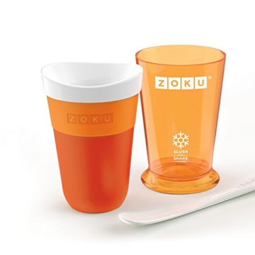 Zoku Slush & Shake Maker ORANGE Create velocemente le vostre Granite - 4