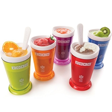 Zoku Slush & Shake Maker ORANGE Create velocemente le vostre Granite - 8